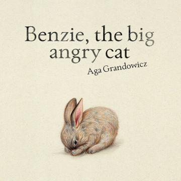 Benzie, the big angry cat – picture book
