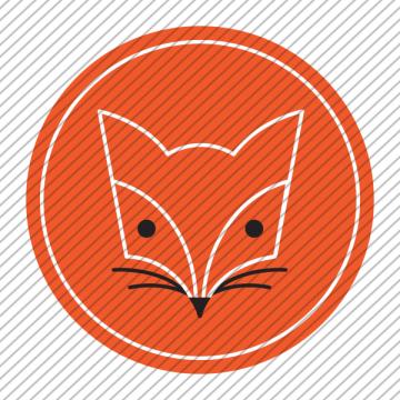 Predesigned animal logo – Fox