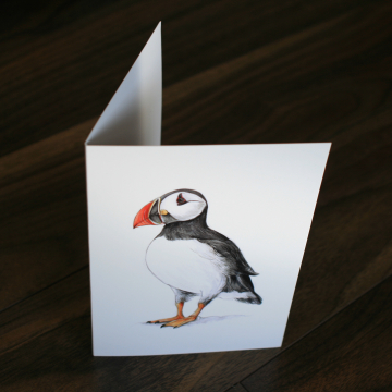 A6 CARD – Puffin.