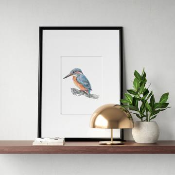 Kingfisher #1 – original artwork