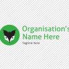 Predesigned Bat and Badger logo by Aga Grandowicz. Horizontal 1.
