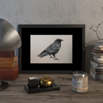 Crow – original artwork