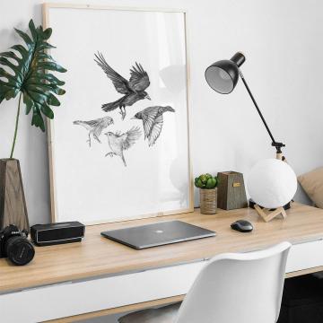 Garden birds #2 – fine art prints, limited edition for each size (40)