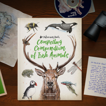 Dr Hibernica Finch's Compelling Compendium of Irish Animals – book cover